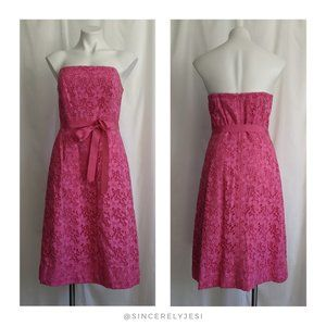 Lilly Pulitzer ▪ Sienna Pink Kentucky Lace Dress